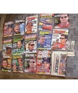 Racing Milestones NASCAR Magazine Lot 1996 1997 Nascar Winston Cup Scene... - $40.00
