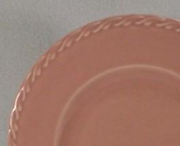 "Metlox Native California 10"" Dinner Plate PINK Pastel  1940's Poppytrail Vernon  - $19.95"