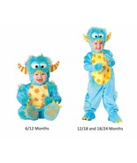 NEW NWT Boys or Girls Baby Lil Monster Halloween Costume 6/12 12/18 18/2... - $29.99+