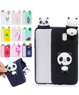 3D Animal Silicone Flexible Slim Bumper Soft Back Case Cover for Samsung... - $3.97