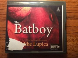 The Batboy Mike Lupica book on cd 4 discs childrens baseball Dream come ... - $9.65
