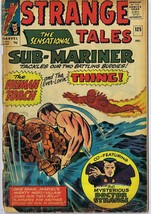 Strange Tales #125 UK ORIGINAL Vintage 1964 Marvel Comics Sub-Mariner - $37.25