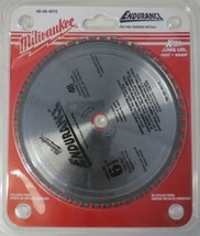 "Milwaukee 48-40-4015 6-1/2"" x 48 Carbide Teeth Ferrous Metals Saw Blade Japan - $39.60"