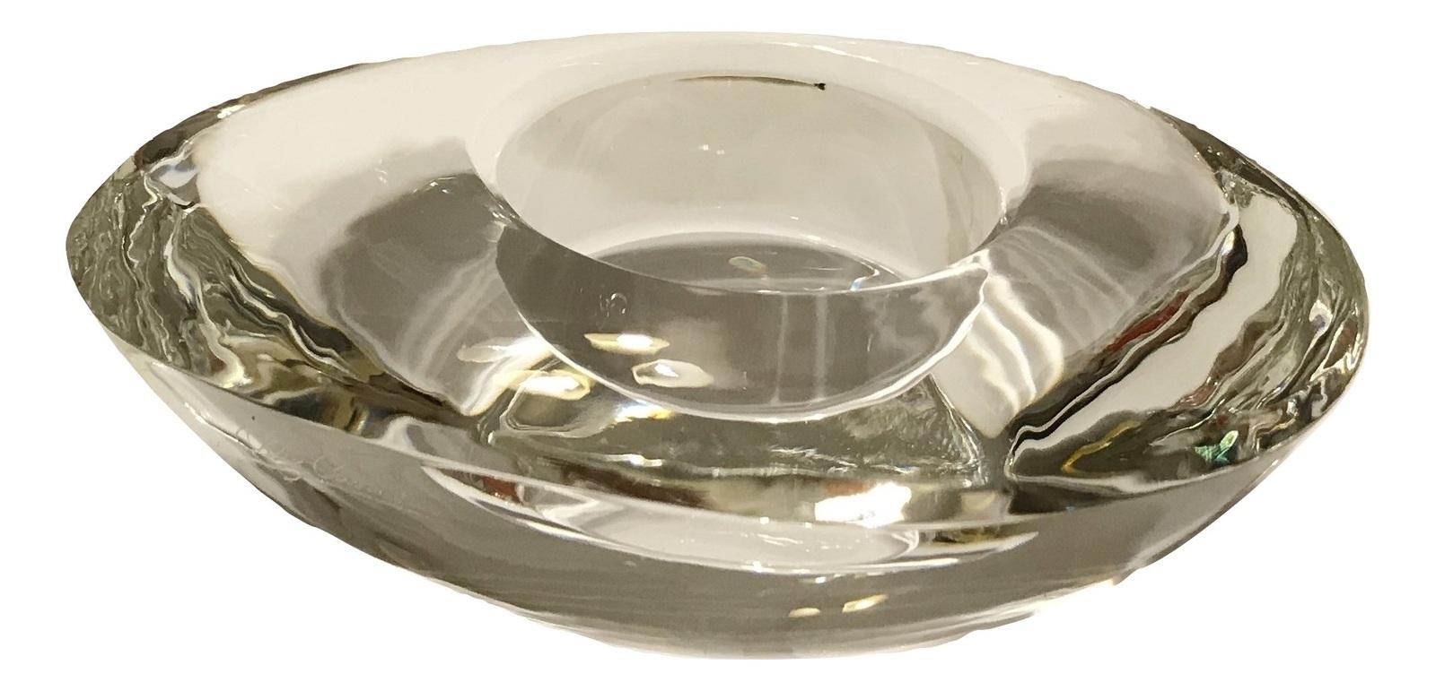 Oleg Cassini Pebble Beach Crystal Votive image 3