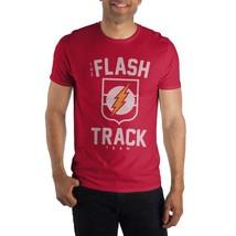 The Flash Track Team Logo Men's Red T-Shirt Tee Shirt - $18.71+
