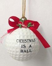 Golf Ball Ornament (G) - $15.00