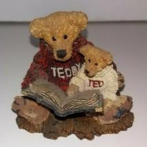 Boyds Bears Ted & Teddy, Original Box & COA - $14.85