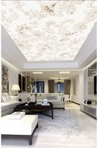 3D Flowery Art 71 Ceiling WallPaper Murals Wall Print Decal Deco AJ WALL... - $34.47+