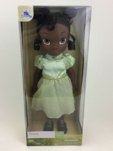 "Disney Store Tiana Doll Princess and the Frog 16"" Toddler Doll New Sealed - $54.40"