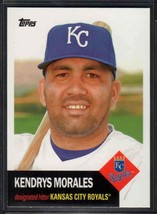 2016 Topps Archives Kendrys Morales #6 Kansas City Royals - $0.89