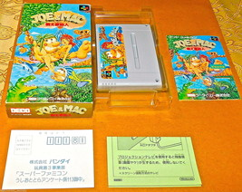 SNES JOE & MAC TATAKAE GINSHIJIN Super NES NINTENDO SNES Famicom SYSTEM ... - $52.23