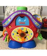 Fisher Price Laugh & Learn PEEK-A-BOO CUCKOO Clock - R7153, Popular Toy!!!! - $41.58