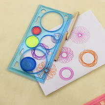 Spirograph Geometric Ruler Learning Drawing Tool Stationery for Student ... - $4.15