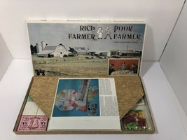 Vintage Rich Farmer Poor Farmer Board Game Rare Mclay 1978 Complete Nice! - $14.84