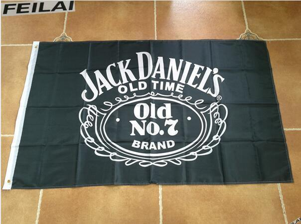 Large Jack Daniels Whiskey Flag Banner 3x5 FT with Metal Grommets for sale  USA
