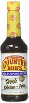 Country Bob's All Purpose Sauce, 13 Ounce Pack of 3