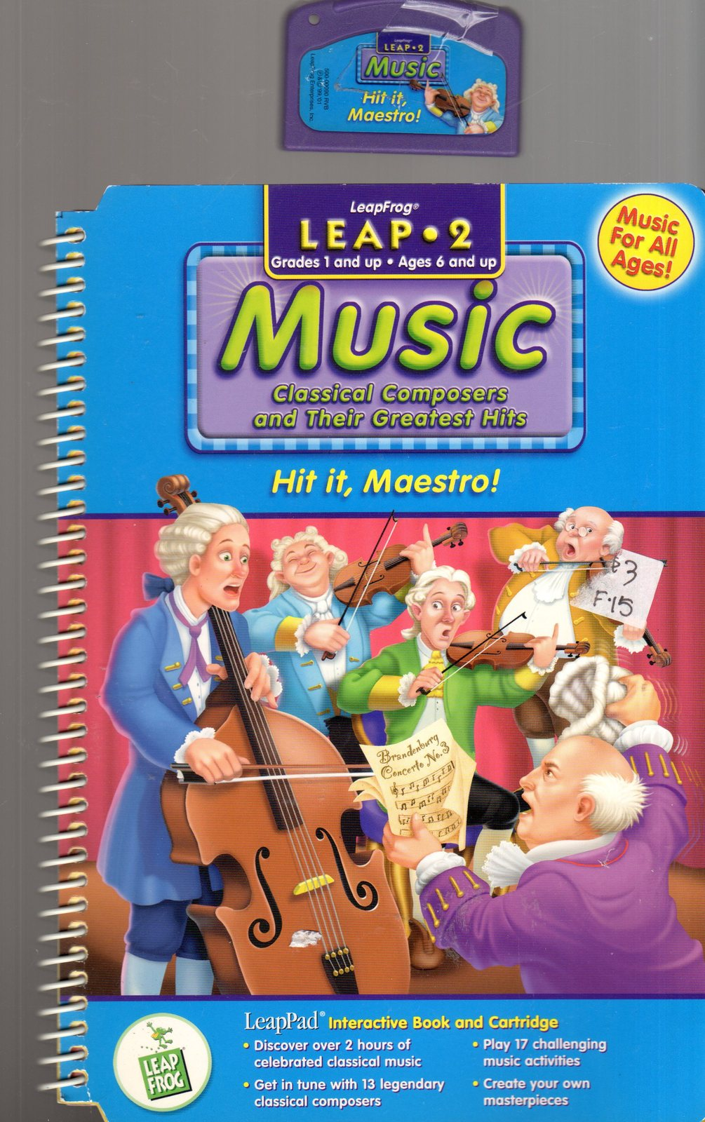 "LeapFrog Leap 2 - Music ""Classical Composers and there Greatest Hits"""