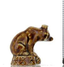 Tom Smith Animates Porcelain Miniature by Wade Original Glaze Circus Bear image 3
