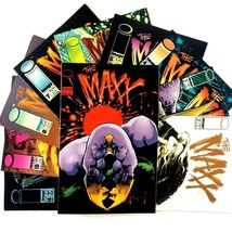 The Maxx 10 Comic Book Lot Image Issues #1 2 3 4 5 6 7 8 10 14 Pitt Sam ... - $19.75