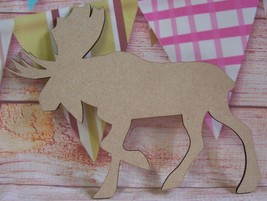 Moose  Various QTYS 3mm mdf craft blank 200mm - $2.43+