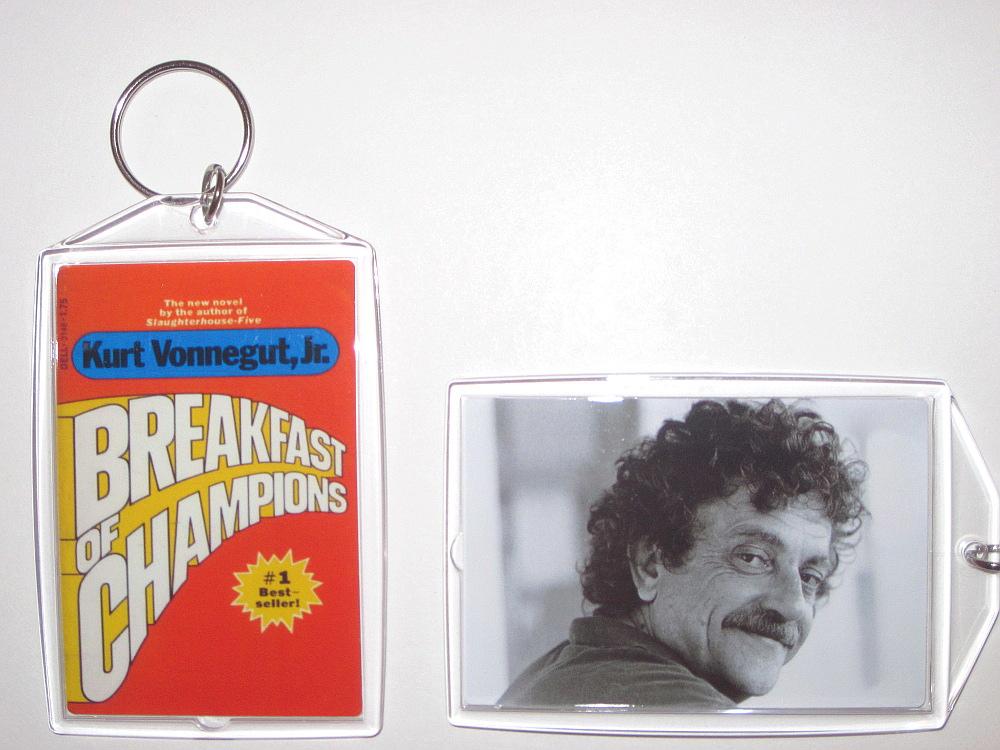 Breakfast of champions keychain