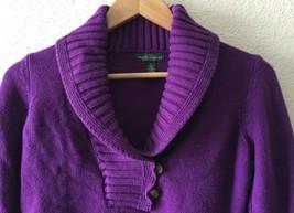 Lauren Ralph Lauren Jeans Co. Womens Button Shawl Neck Cardigan Sweater ... - $22.76