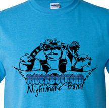 Riverbottom Nightmare Band T-shirt Emmet Otters Christmas Muppets graphic tee image 1