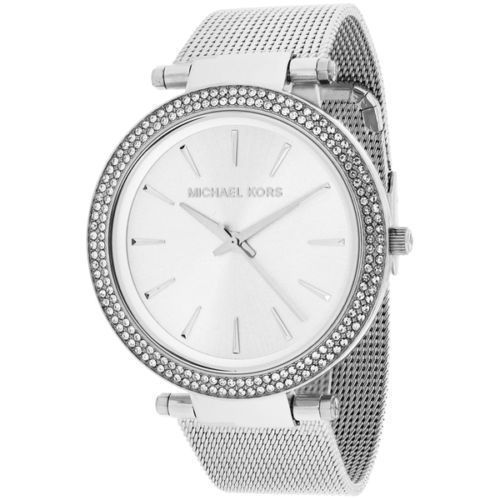 295229f75f55 57. 57. Previous. 100% New Michael Kors Silver Darci Stainless Steel  Bracelet Women s Watch MK3367