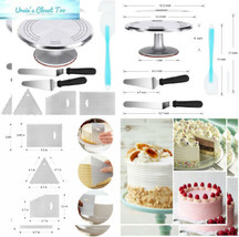 Kootek Aluminium Alloy Revolving Cake Stand 12 Inch Turntable with... - $31.24