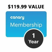 Canary Membership: 1 Year Annual Membership, Connect & Monitor Up to 5 D... - $88.99