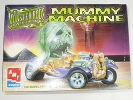 MUMMY MACHINE (MONSTER RODS) GLOW IN THE DARK Model Kit AMT/ERTL Skill L... - $18.05