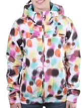 Bench Womens Aytoun C Bright White Windbreaker Hooded Jacket BLKF0028C NWT