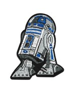 """R2D2 IRON ON PATCH 3"""" Embroidered Applique Star Wars R2-D2 Droid Android... - $5.99"""