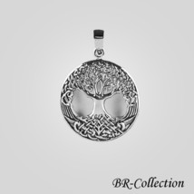 925 Sterling Silver Celtic Tree of Life Pendant – Irish Jewelry - $22.72
