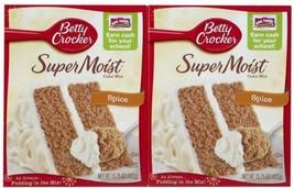 Betty Crocker Super Moist Spice Cake Mix - 15.25 oz - 2 pk - $10.50