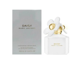 Marc Jacobs Daisy White Limited Edition 3.4 Oz/100 ml EDT Spray for Wome... - $79.95