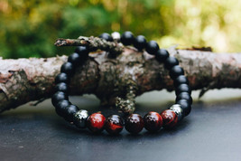 UDM Raven | Natural Stone | Red Tiger's Eye | Gunmetal Hematite | Matte ... - $33.99
