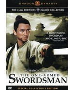 Chang Cheh One-Armed Swordsman DVD Jimmy Wang Yu dubbed - $23.00