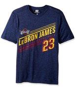 NBA Men's LeBron James Cleveland Cavaliers Advance Stats Player Name T-S... - $17.95