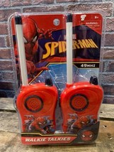 Marvel Spider-Man Walkie Talkie Nuovo Giocattolo - $10.41