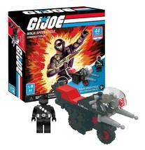 G.I.Joe Ninja Speed Cycle Construction Set 44 Pieces & Mini Figure New i... - $13.88