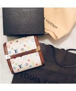 [Genuine] LOUIS VUITTON Bi-Fold Wallet Paper Bag Empty Box Set Ladies Small - $235.34