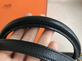 100% Authentic HERMES Black KELLY BAG GHW image 5