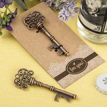 200 Copper Skeleton Key Bottle Openers with a Heavy Kraft Paper Backer Card - $215.23