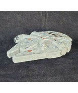"Disney Star Wars Millenium Falcon 6"" Pull Back Plastic Toy Works - $17.81"