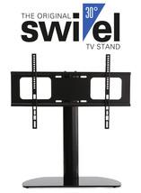 Premium Replacement Swivel Glass TV Stand/Base for Samsung QN65Q8CAMFXZA - $67.68