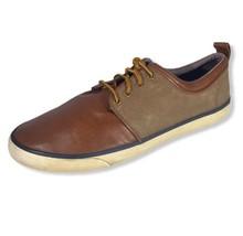 Parker & Sky Mens Brown Lace Up Round Toe Sneaker Dexter Shoes Size 10.5 - $26.72