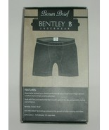 Mens Boxer Briefs BentleyBT Boxer Brief Underwear Big and Tall Man Burgu... - $10.00
