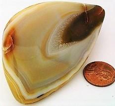 Polished Agate Specimen Carving Cabbing Rough 11 - $7.31