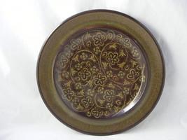 2 Franciscan Medeira Dark Green Stoneware Dinner Plates Gently Used - $19.95